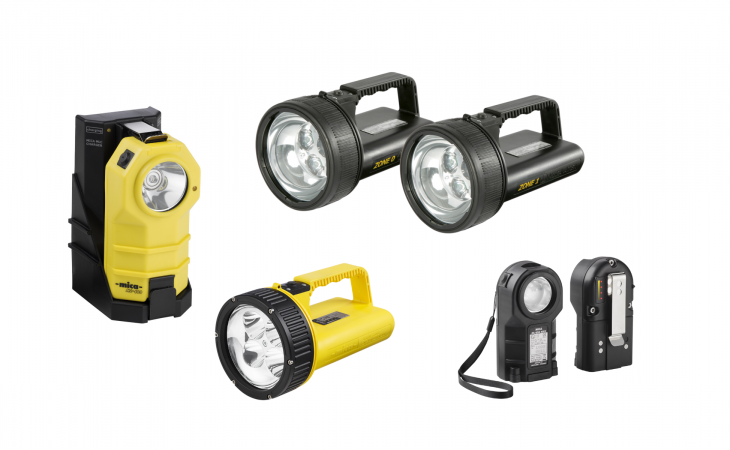 Diverse håndlamper