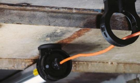 slam magnetisk brakett i bruk